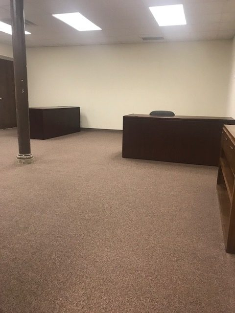 Large room for cubicles