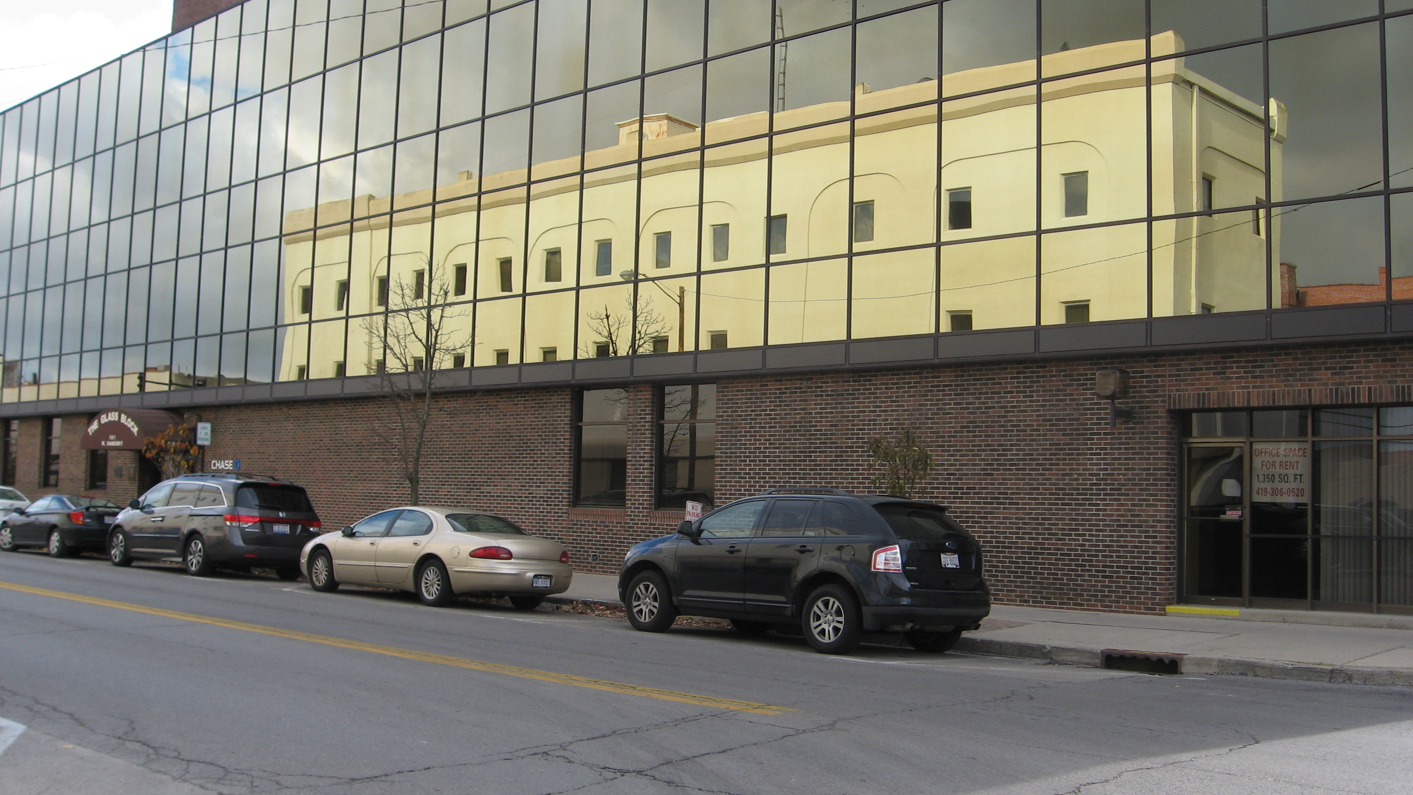 Glass Block Building